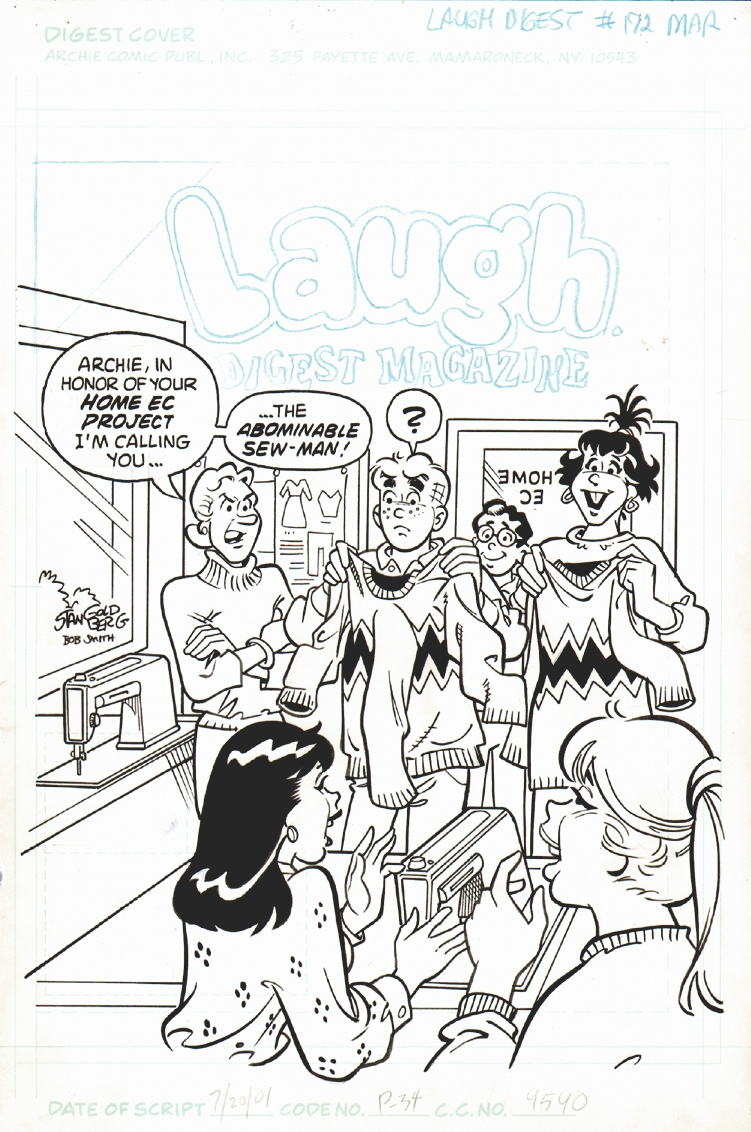 Laugh Digest #172 Cover